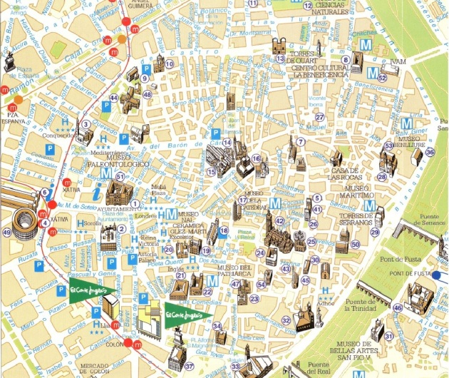 Valencia Monumentos