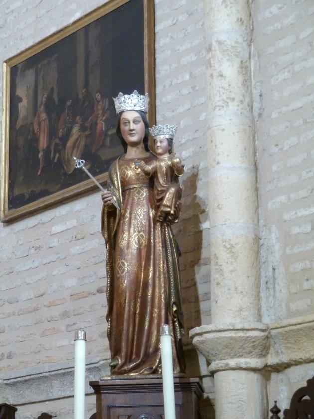 Virgen Candelaria, S.XIV, Trigueros